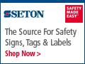 Seton Signs Tags & Labels