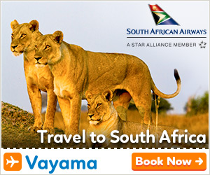 Vayama - South African Airways: Call to action or slogan