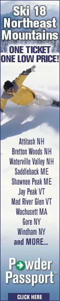 Powder Passport - Ski 18 Mountains - 1 Price!