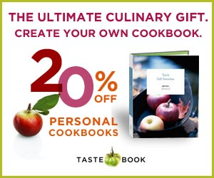 Tastebook. Personal cookbook with famliy recipes.