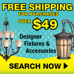 Free Shipping Lighting Fixtures