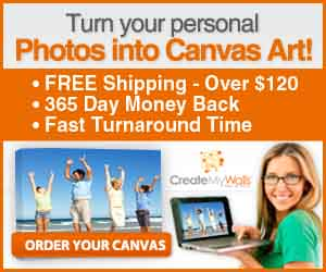 Your Photos on Canvas - In Four Simple Steps