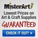 Save up to 75% on art supplies at MisterArt.com!