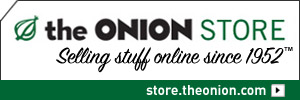 The Onion Store: Selling Stuff Online Since 1952