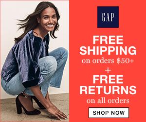 Free Shipping at Gap Canada