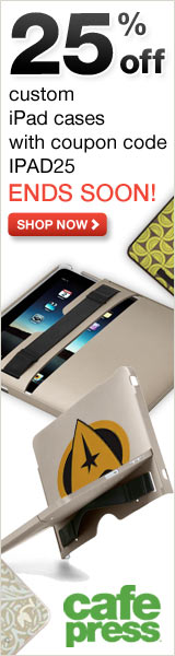25% off iPad Cases at CafePress - Offer Ends Soon!