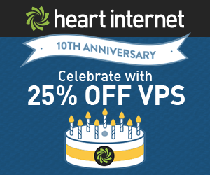 Heart Internet Virtual Private Servers