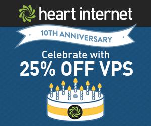 Heart Internet Virtual Private Servers