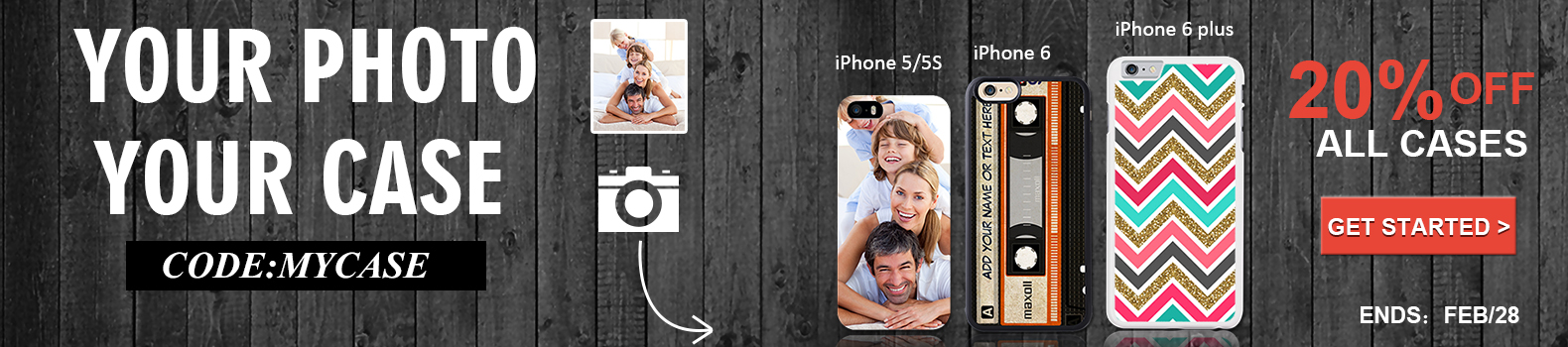 Snapmade 2015 - 20% Off All Phone Cases Deals - 1580*350