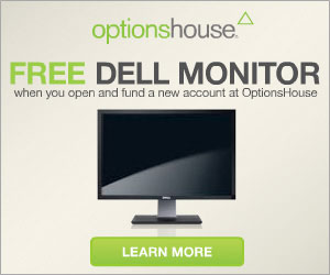 Get a Free Dell Monitor @ OptionsHouse.com