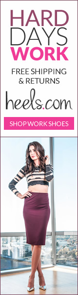 Reward yourself for a hard day's work. Shop Heels.com!