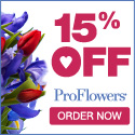 15% off Valentine's Day Flowers & Gifts at ProFlowers