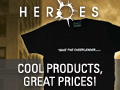 Click here for merchandise from Heroes!