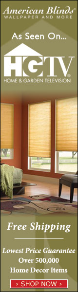 Seen on HGTV – American Blinds, Wallpaper and More