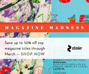 Save up to 50% off top magazine titles