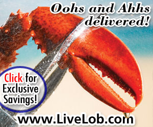Fresh Maine Lobster Rolls, live Maine lobsters, gifts and more