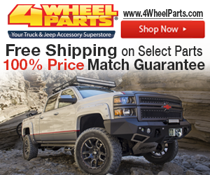 Shop at 4WheelParts.com for FREE SHIPPING and 100% Price Match Guarantee