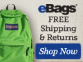 Get Free Shipping at eBags