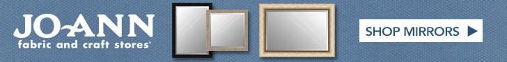 Shop Framed Mirrors at Joann.com!