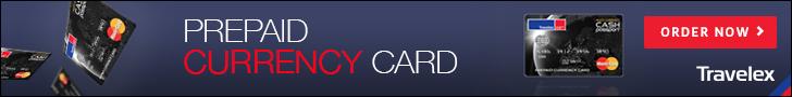 Travelex Prepaid Currency Card