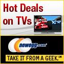 Hot TV Deals at Newegg