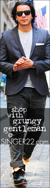 Shop with Grungy Gentleman at SINGER22.com