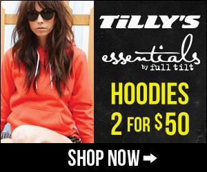 2 for $50 Full Tilt Hoodies