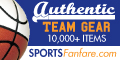 Authentic Team Gear at Sports Fanfare