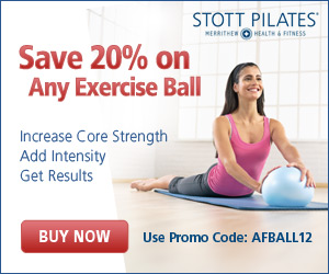 Save 20% on STOTT PILATES exercise balls