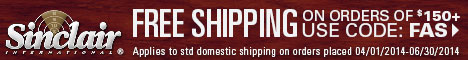 Get Free Shipping Today on All Orders Over $150
