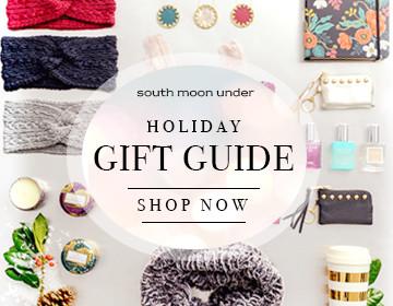 2015 Holiday Gift Guide - SouthMoonUnder.com