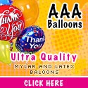 AAA Balloons, send the right balloon.