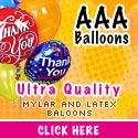 AAA Balloons, send the right balloon.