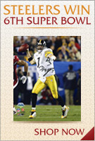 Steelers Win 6th Super Bowl