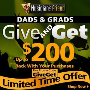 father's  day deals MusiciansFriend.com