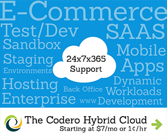 Codero Hybrid Cloud Hosting