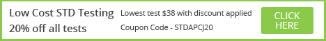 5% off STD Testing with Code: JCJ09