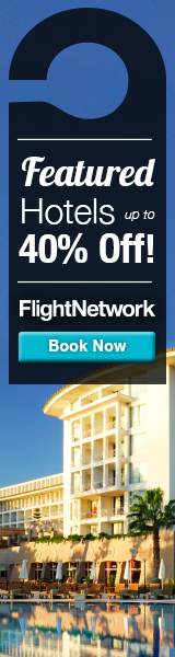 Save up to 40% on Flight Network's Featured Hotels