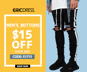 Ericdress Outwear Extra $5 no Limited, code:fest8 ;10% off Over $49,code:fest10,Shop Now!