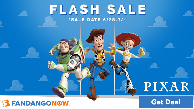 620x350 Pixar Flash Sale on FandangoNOW