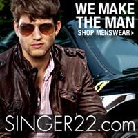 Shop Designer Menswear at SINGER22.com