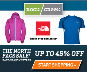 The North Face Clearance! Up to 45% off select past-season items.