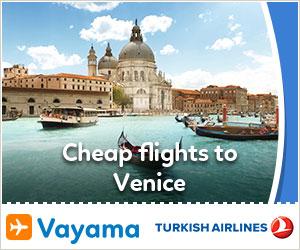 Vayama - TK_Venice2017: Amazing Deals to Venice
