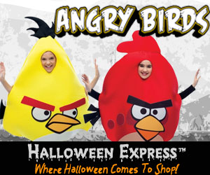 Angry Birds at Halloween Express