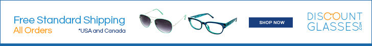 $15 off $50 at DiscountGlasses.com