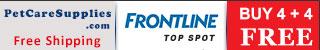 Frontline Top Spot: Buy 1 Get 1 Free + Extra 10% Discount
