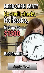 Need Cash Fast?