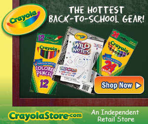 Crayola Crayon Store.com - Back to school