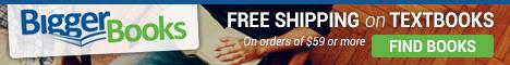 Free Shipping at BiggerBooks.com