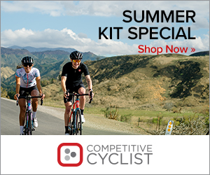 Competitive Cyclist Spend $250 Get $50